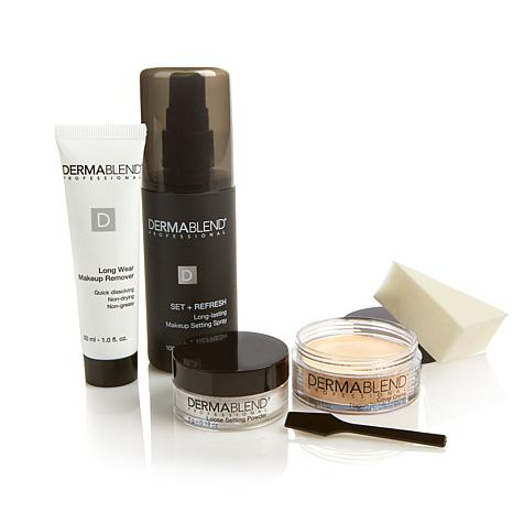 Dermablend Cover Creme Kit w/Spray - Warm Ivory