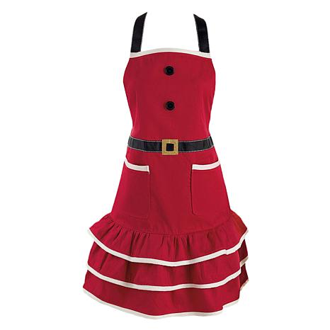Design Imports Mrs. Claus Christmas Apron