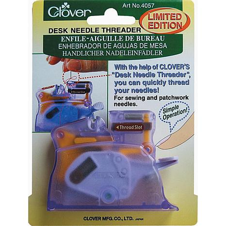 Desk Needle Threader - Purple