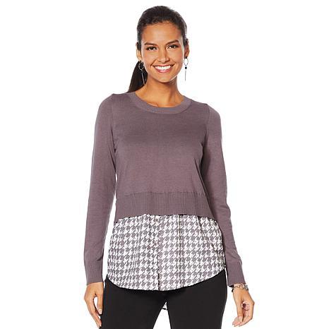 DG2 by Diane Gilman Mixed Media Print Sweater