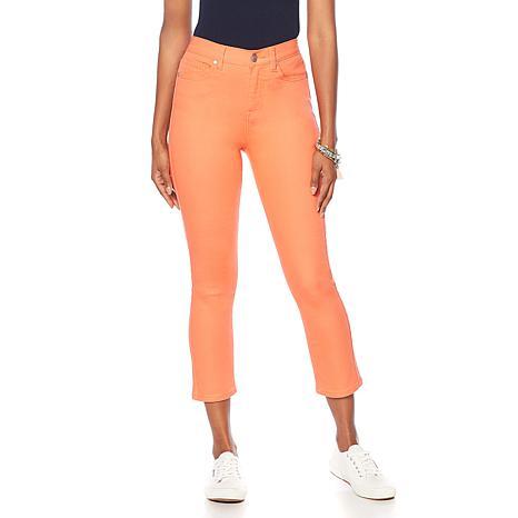 DG2 by Diane Gilman Virtual Stretch Cropped Skinny Jean - Fashion