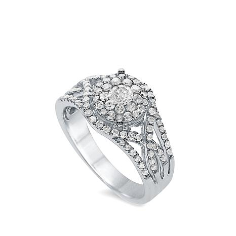 Diamond Couture 14K 0.75ctw Diamond Infinity Ring