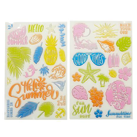 Diamond Press Life's A Beach Stamp Kit