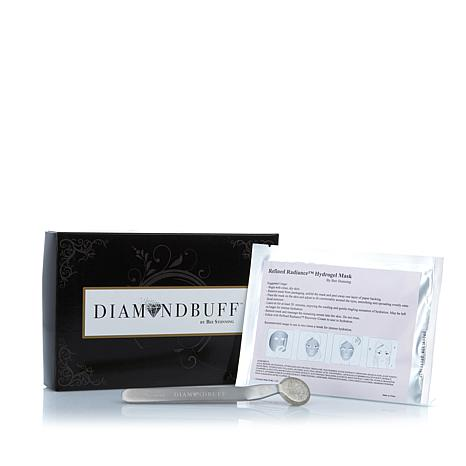 DiamondBuff™ Microdermabrasion Tool and Refined Radiance Hydrogel Mask