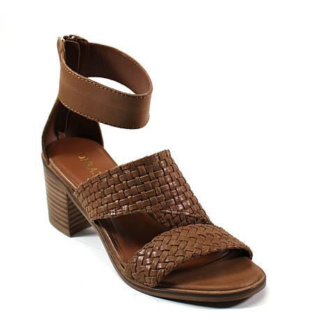 Diba True Cant Wait Leather Block-Heel Sandal