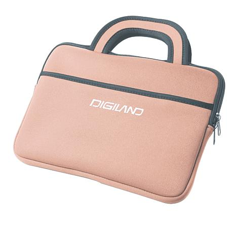 "DigiLand 9"" Portable DVD Player/Tablet Sleeve"