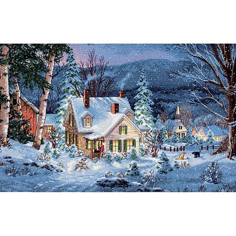 Dimensions Counted Cross Stitch - Winter's Hush