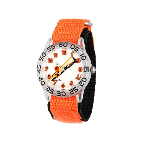 "Disney The Incredibles ""Elastigirl"" Kid's Orange Time-Teacher Watch"