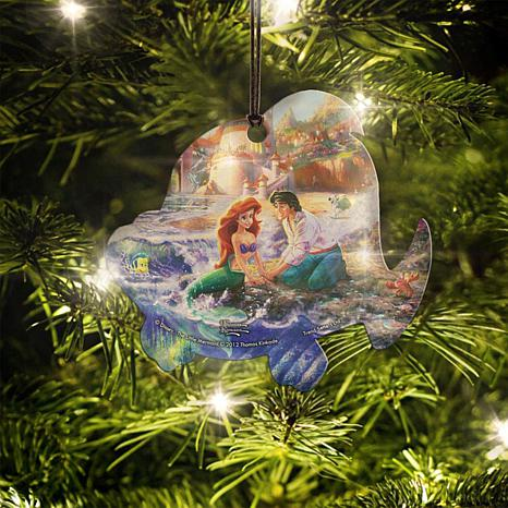 Disney Thomas Kinkade The Little Mermaid Flounder Hanging Acrylic