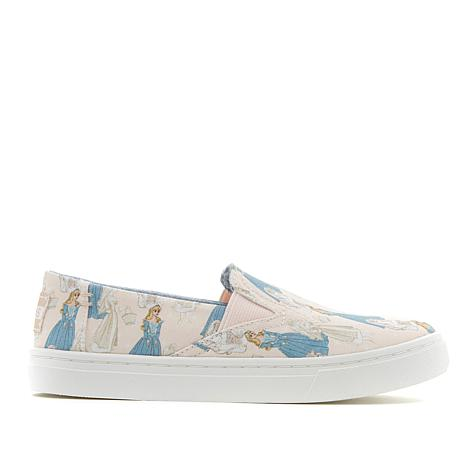 Disney x TOMS Sleeping Beauty Youth Luca Slip-On