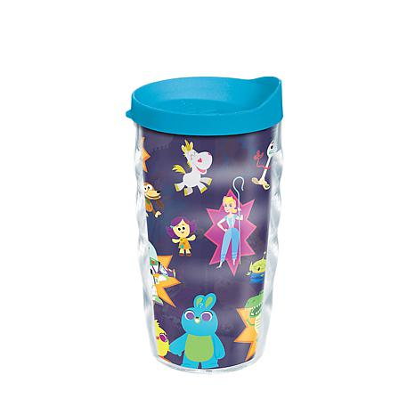 Disney/Pixar Toy Story 4 Collage 10 oz Wavy Tumbler with lid