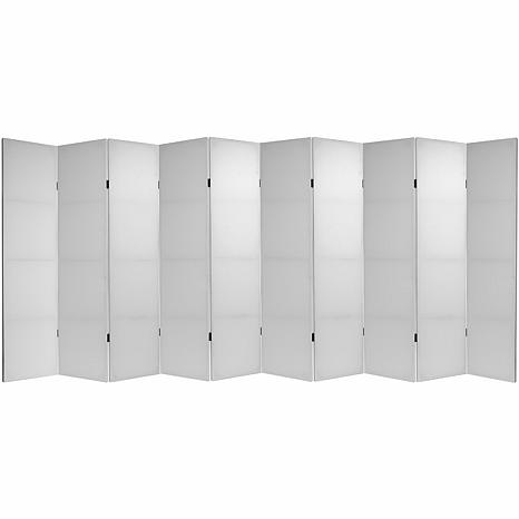 Do It Yourself 6' Tall Canvas Room Divider - 10 Panels