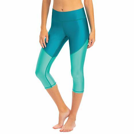 Dolfin Uglies Revibe High-Shine Aqua Swim Capri Legging - Womens