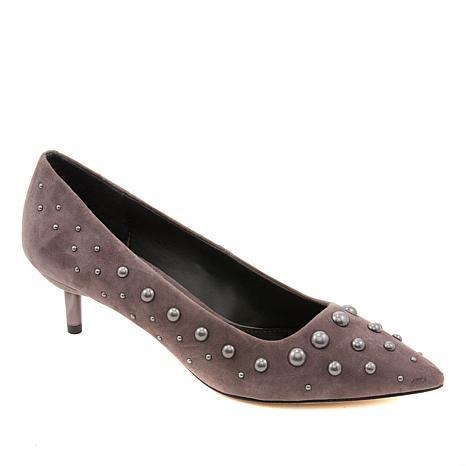 f1eb3fbe352 Donald J. Pliner Bazi Studded Suede Pointed Toe Pump