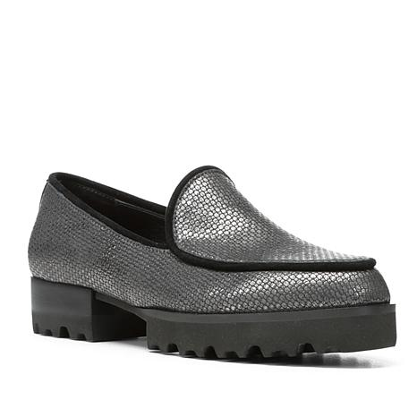 Donald J. Pliner Elen Leather Menswear Inspired Loafer