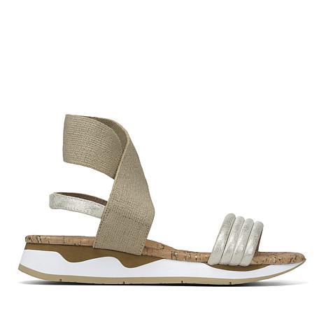 Donald J. Pliner Shaye Leather and Elastic EVA Sandal