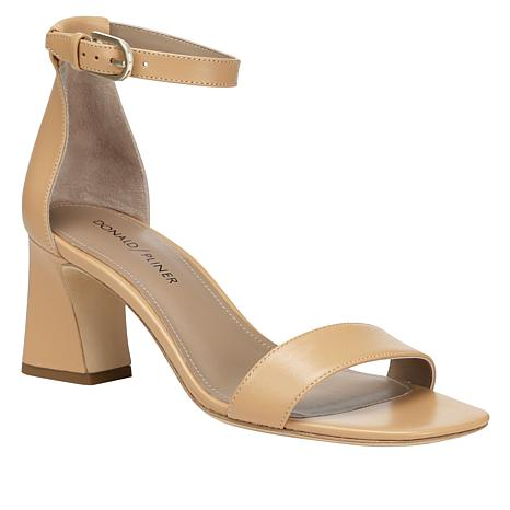 Donald J. Pliner Vanesa Leather One-Band Sandal with Ankle Strap