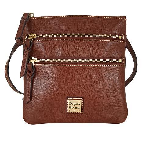 Dooney & Bourke Saffiano Leather North/South Crossbody