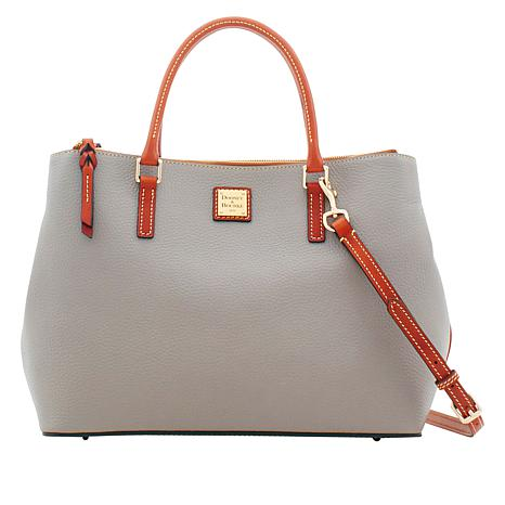 Dooney & Bourke Willa Pebble Leather Satchel