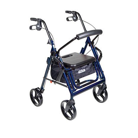 Drive Medical Duet Transport Chair/Rollator Walker