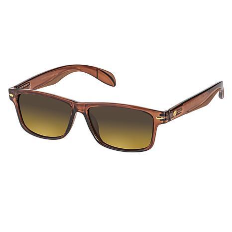 Eagle Eyes Casey Clear Brown TriLenium Polarized Sunglasses
