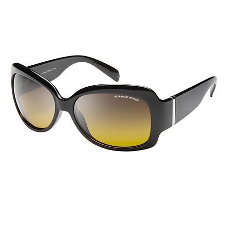 Eagle Eyes Halley Black TriLenium Polarized Sunglasses