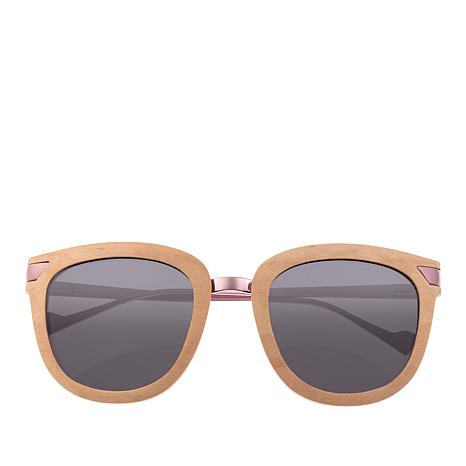 Earth Maple Wood Nissi Polarized Rosetone Sunglasses
