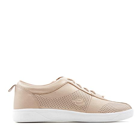 easy spirit Freney8 Leather Lace-Up Sneaker