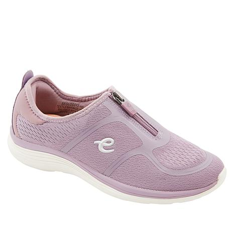 easy spirit Glossy Zip-Up Walking Shoe