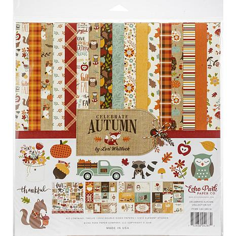 Echo Park Collection Kit 12X12 - Celebrate Autumn