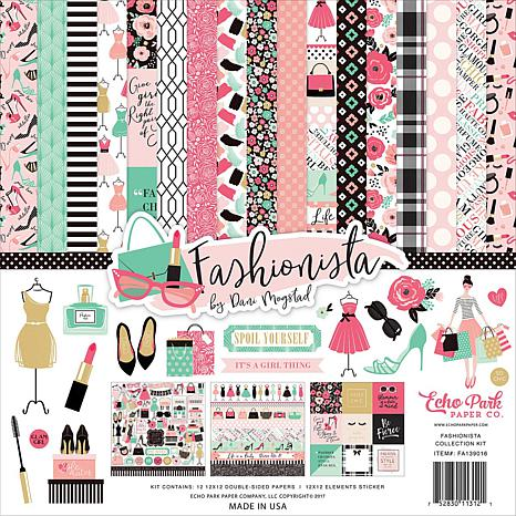 Echo Park Collection Kit 12X12 - Fashionista