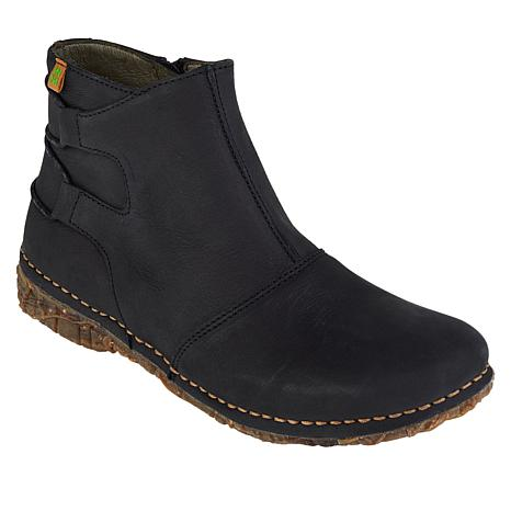 El Naturalista Angkor Pleasant Leather Ankle Boot