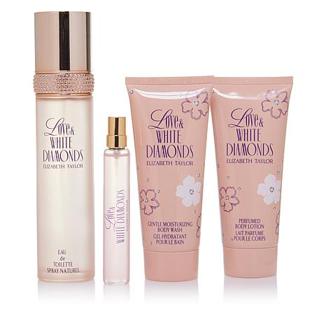 Elizabeth Taylor Love & White Diamonds 4-piece Set