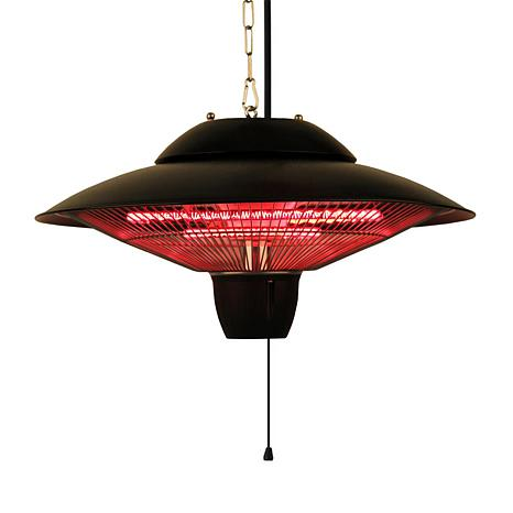 EnerG Infrared Hanging Electric Outdoor Heater with 2 Bulbs
