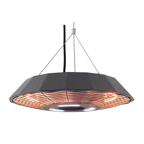 EnerG Infrared Low-Profile Hanging Elect Outdoor Heater w/LED & Remote