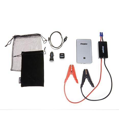 Energizer 30000mWh Car Jump Starter & Portable Charger with LED Light