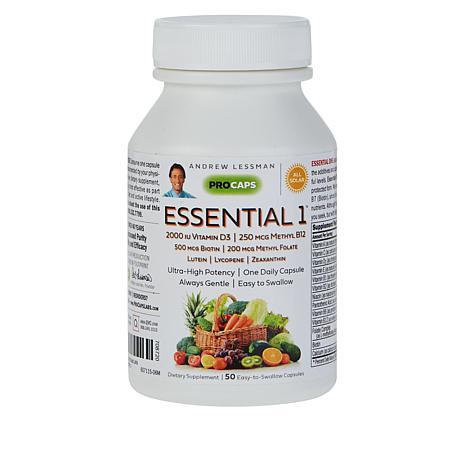 Essential-1 with Vitamin D3-2000 - 50 Capsules