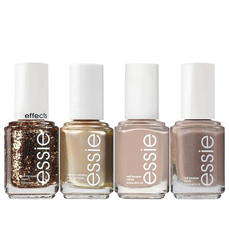 Essie Champagne Nail Lacquer 4-piece Set
