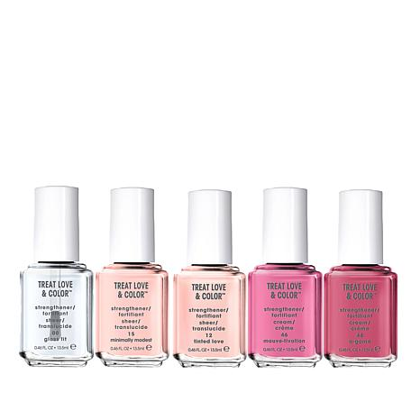 Essie TLC Nail Care and Color 5-piece Set
