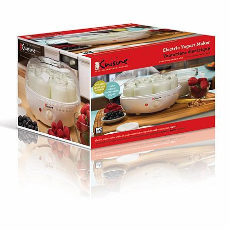 Euro cuisine yogurt maker 7537100 hsn for Cuisine yogurt maker recipe