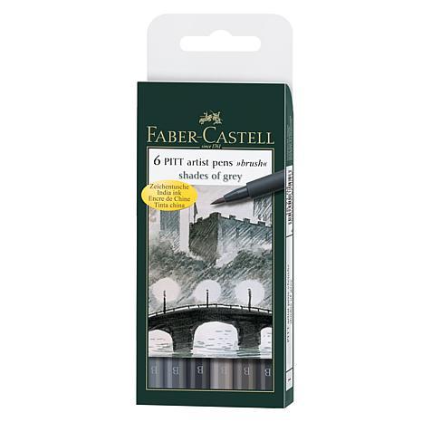 Faber-Castell Pitt Artist Brush Pen Sets - Shades of Gray