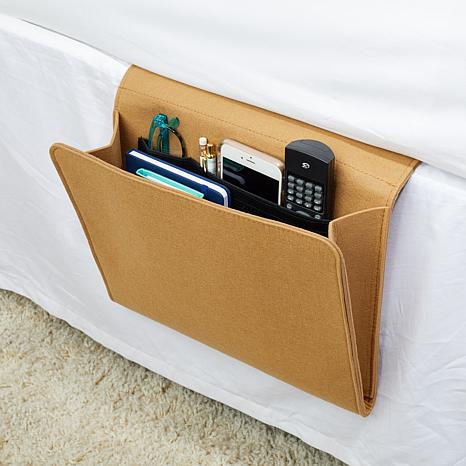 2-Pack Felt Bedside Caddy