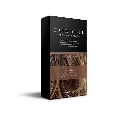 FHI Brands Hair Veil Powder Hair Filler - Light Brown