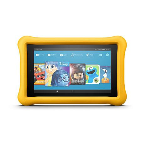 """Fire 7"""" Kids Edition 16GB Tablet with Kid-Proof Case and Snoopy eBooks"""