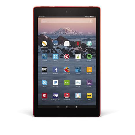 """Fire HD 10"""" IPS 32GB Alexa-Enabled Tablet with Pandora Premium Offer"""