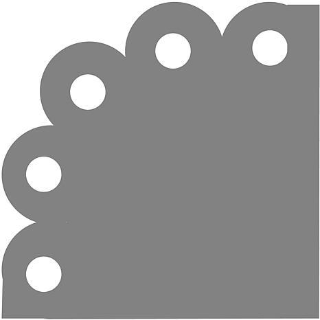 Fiskars Corner Lever Punch - Circles