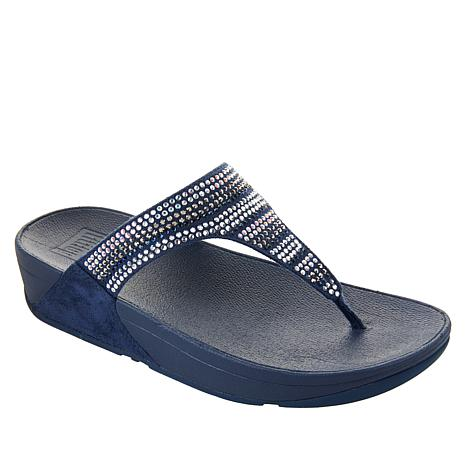 70936a222c8be FitFlop Flare Strobe Toe Post Sandal - 8951986