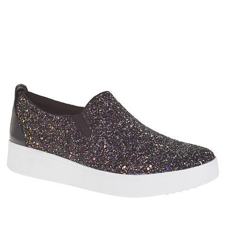 FitFlop Sania Glitter Skate Slip-On Sneaker