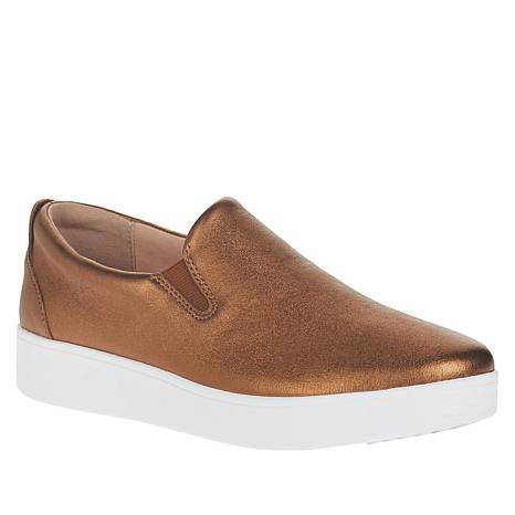 FitFlop Sania Skate Leather Slip-On Sneaker