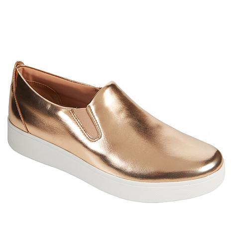 FitFlop Sania Skate Metallic Slip-On Sneaker